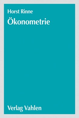 Abbildung von Rinne | Ökonometrie | 2004 | Grundlagen der Makroökonometri...