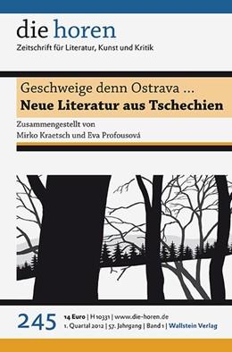 Abbildung von Krätzer | Geschweige denn Ostrava … | 2012 | Neue Literatur aus Tschechien | 245