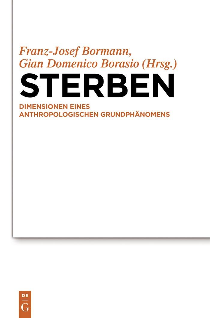 Abbildung von Bormann / Borasio | Sterben | 2012