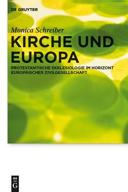 Abbildung von Schreiber | Kirche und Europa | 2012 | Protestantische Ekklesiologie ... | 12
