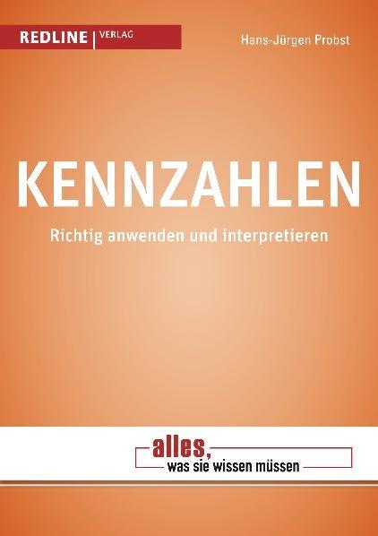 Kennzahlen   Probst   1. Auflage 2012, 2012   Buch (Cover)