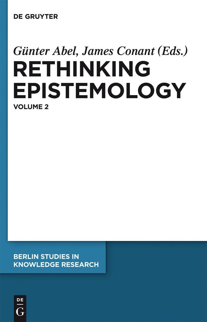 Rethinking Epistemology   Abel / Conant, 2012   Buch (Cover)