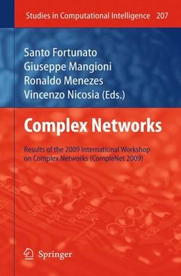 Abbildung von Menezes / Fortunato / Mangioni / Nicosia | Complex Networks | 2012 | Results of the 1st Internation... | 207