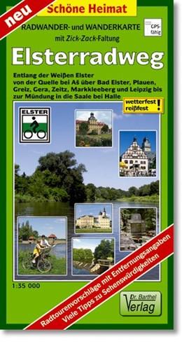 Abbildung von Elsterradweg Radwander- und Wanderkarte 1 : 35 000   Laufzeit bis 2018   2012   Entlang der Weißen Elster von ...