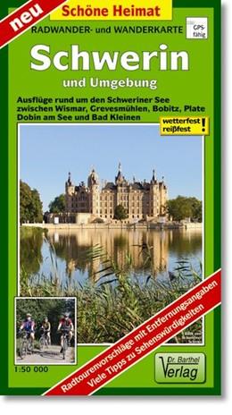 Abbildung von Schwerin und Umgebung Radwander- und Wanderkarte 1 : 50 000 | Neuauflage, Laufzeit bis 2018 | 2012 | Ausflüge rund um den Schwerine...