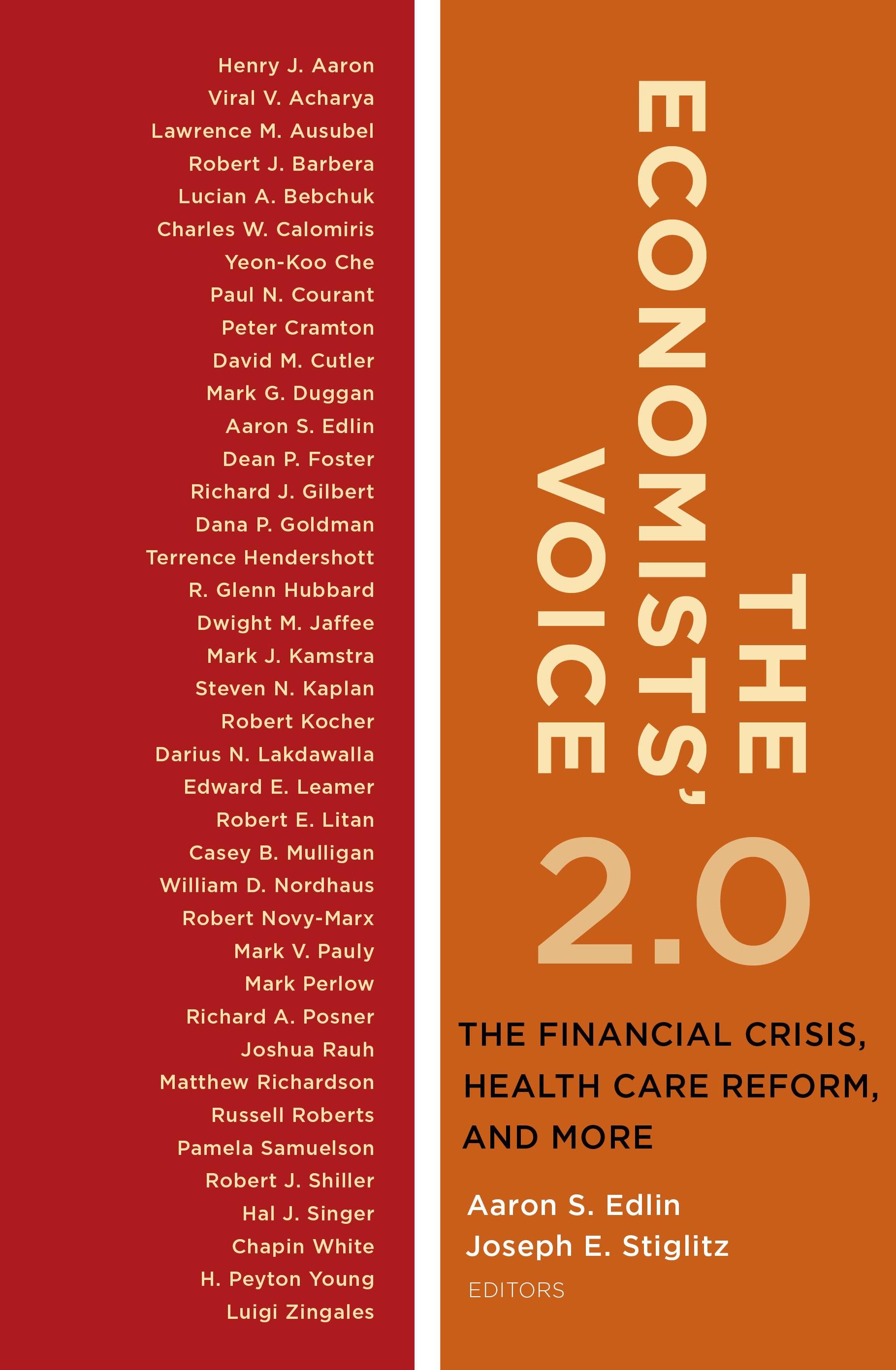 Abbildung von Edlin / Stiglitz   The Economists' Voice 2.0   2012