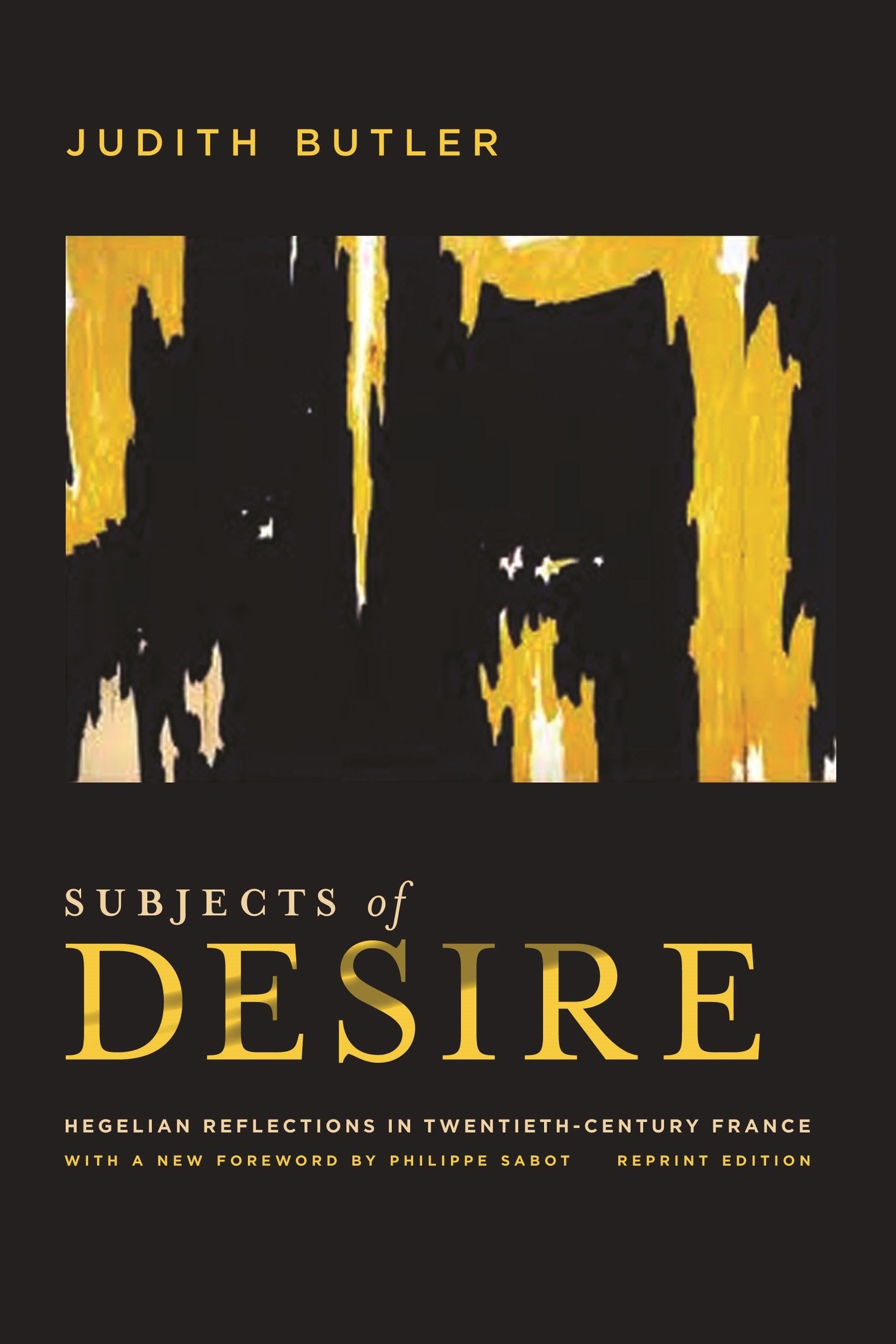 Abbildung von Butler | Subjects of Desire | 2012
