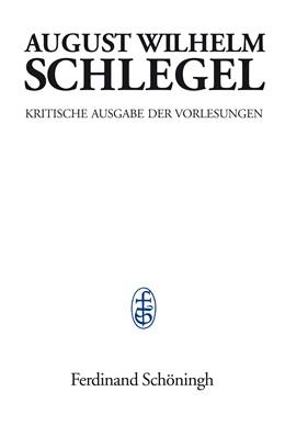 Abbildung von Schlegel / Knödler | Vorlesungen über Ästhetik | 1. Auflage 2016 | 2016 | 1798-1827 | 2/2