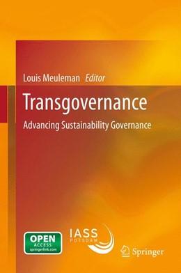 Abbildung von Meuleman   Transgovernance   2012   Advancing Sustainability Gover...