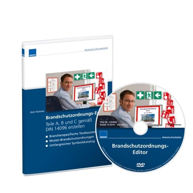 Brandschutzordnungseditor, 2011 (Cover)
