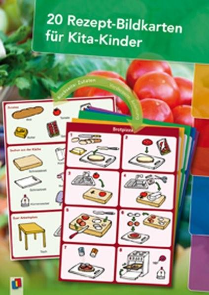20 Rezept-Bildkarten für Kita-Kinder, 2012 (Cover)