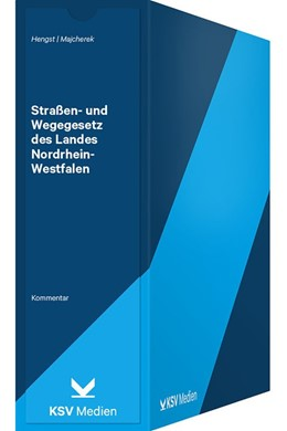Abbildung von Hengst / Majcherek (Hrsg.) | Straßen- und Wegegesetz des Landes Nordrhein-Westfalen (StrWG NW) | 1. Auflage | 2019 | beck-shop.de